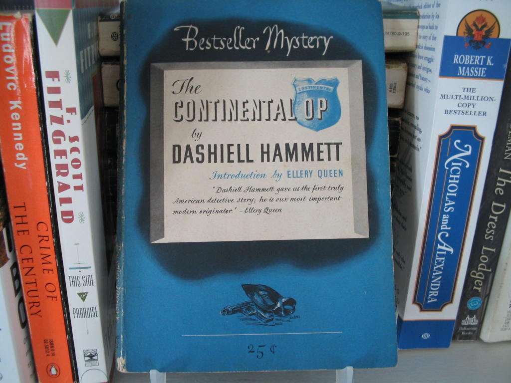 the continental op dashiell hammett book 1945