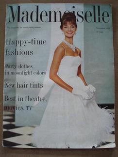 vintage mademoiselle 1959 magazine