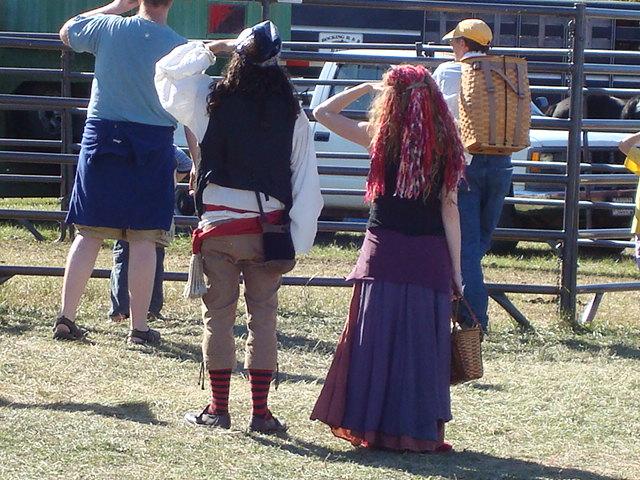 Pirates love the fair