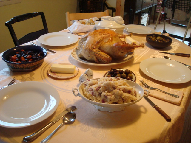 Thanksgiving Chez Schmidt