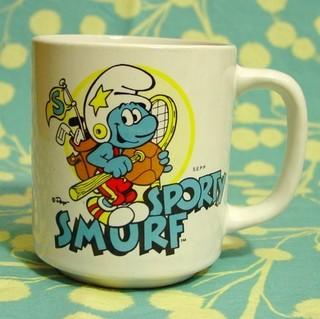ADHD Sporty Smurf